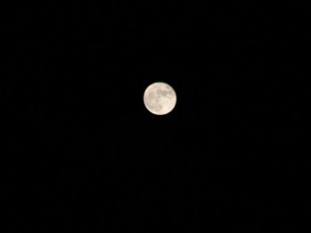 11. März 2009 - Der Mond über Berlin
