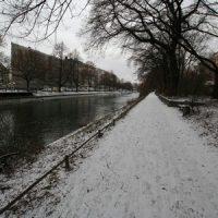 Schnee in Berlin-Kreuzberg