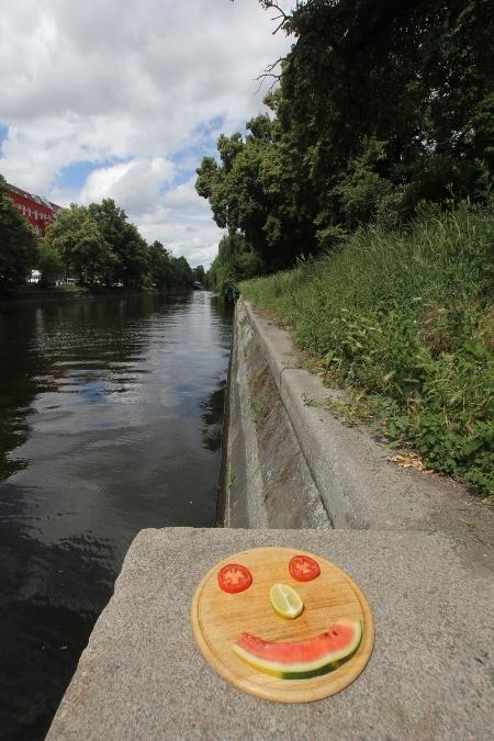 Berliner Gesicht am Landwehrkanal