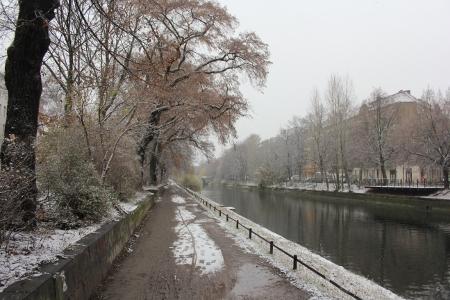 Winter 2012/2013: Erster Schnee in Berlin