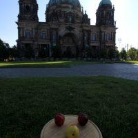 Das Gesicht vor dem Berliner dom