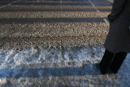 Berliner Schneematsch im Winter 2009