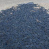 Das Gesicht vor dem Brandenburger Tor