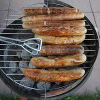 Bratwurst grillen