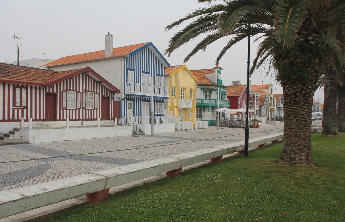 Die bunten Häuser von Costa Nova