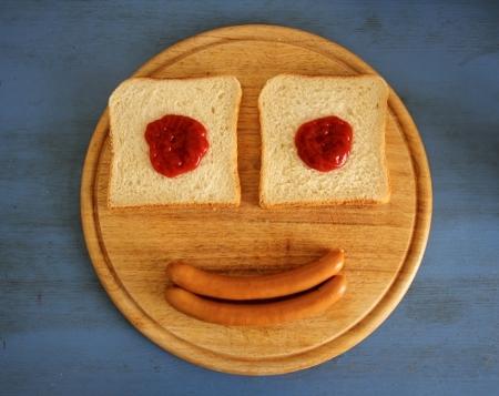 Würstchen - Das nicht-vegetarische Gesicht
