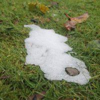 Der erste Schnee im Winter 2011/2012