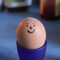 Das Eiergesicht