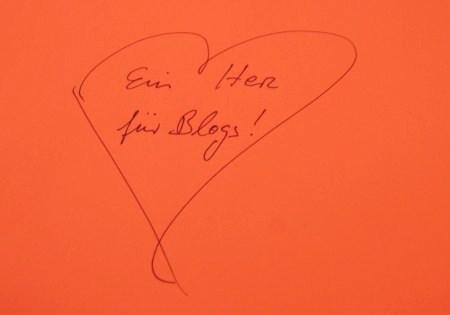 Ein Herz für Blogs!
