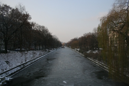 Winter 2009/2010 - Landwehrkanal in Berlin
