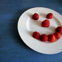 Das Erdbeer-Gesicht
