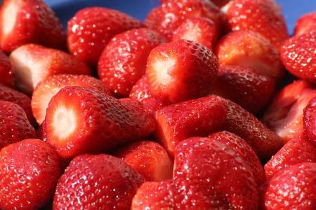 Erdbeeren und Kalorien? Egal - Hauptsache sie schmecken!