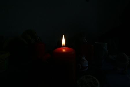 27. November 2016 - 1. Advent und die erste Kerze brennt