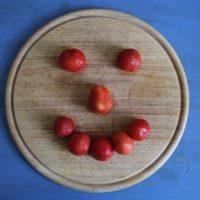 Erdbeeren zum Frühstück
