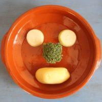 Das Gemüse-Gesicht