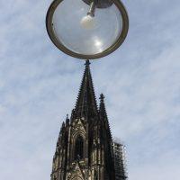 Kölner Dom mit Laterne