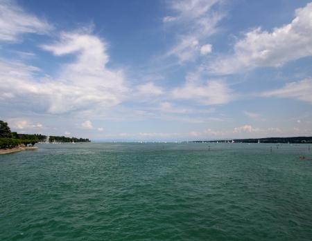 Konstanz: Blick über den Bodensee