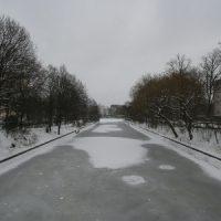 Landwehrkanal in Berlin - Januar 2010