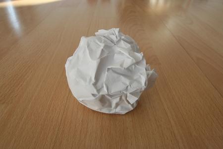 Meine Papierkugel