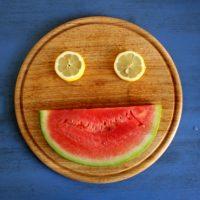 Das Melonen-Zitronen-Gesicht