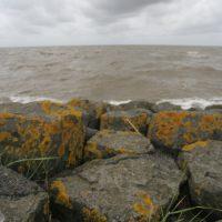 Steine an der Nordseeküste