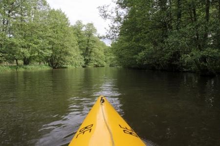 Durch den Spreewald paddeln