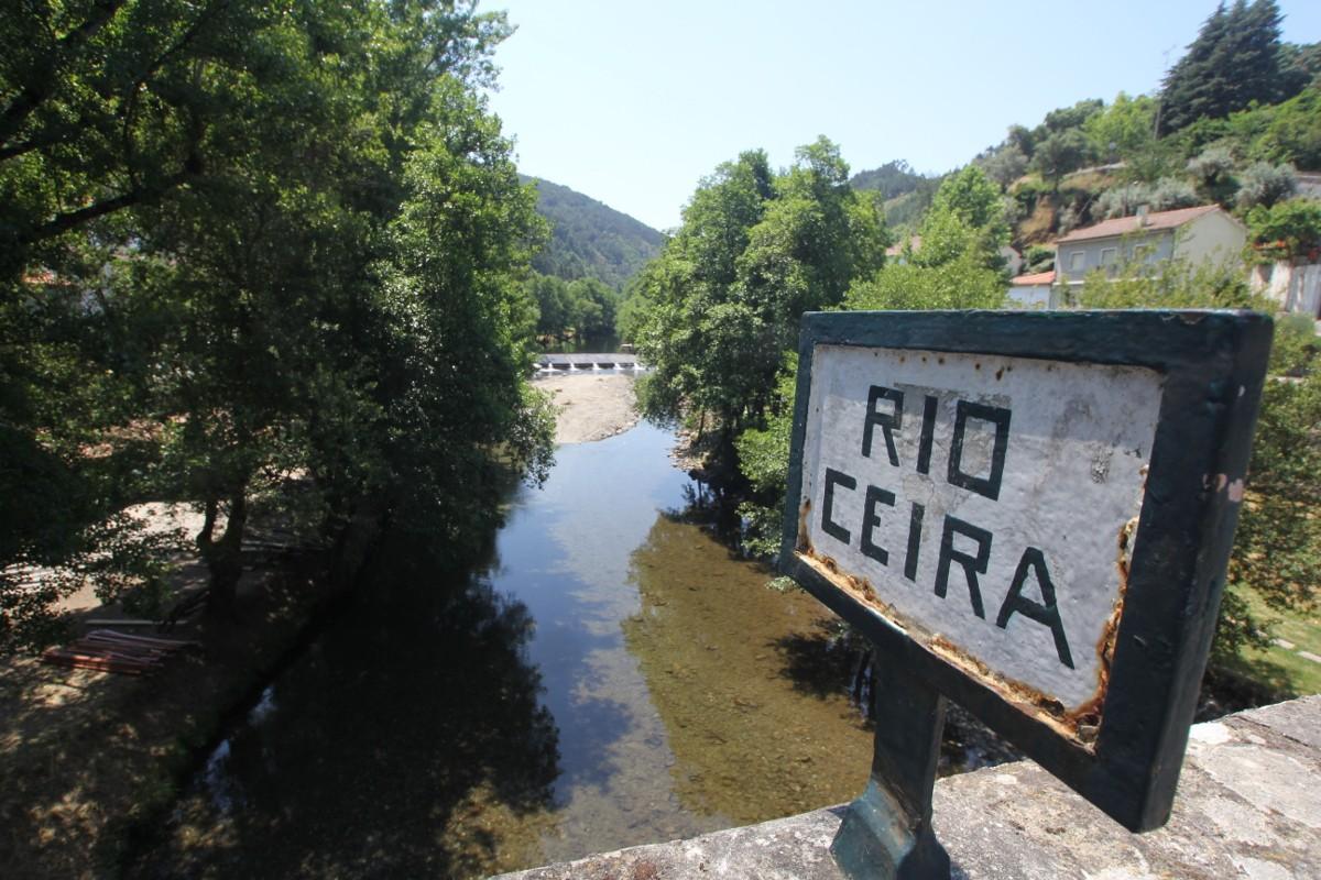 Rio Ceira in Góis