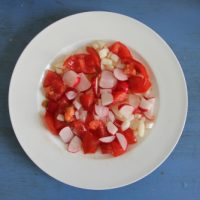 Salat-Frühstück