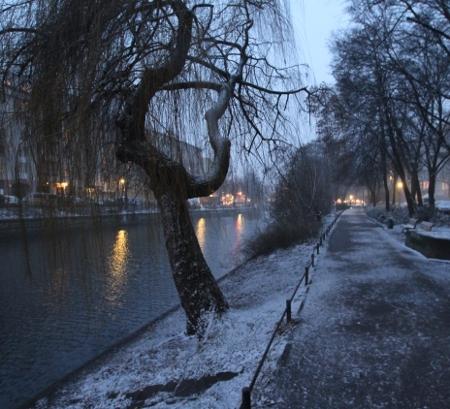 Schneefall im März 2013