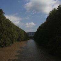 Die Sihl in Zürich
