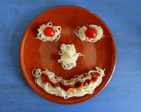 Das Spaghetti-Gesicht