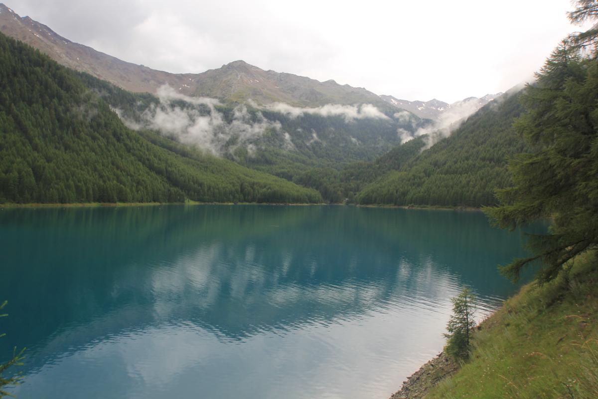 Vernagt-Stausee in Südtirol