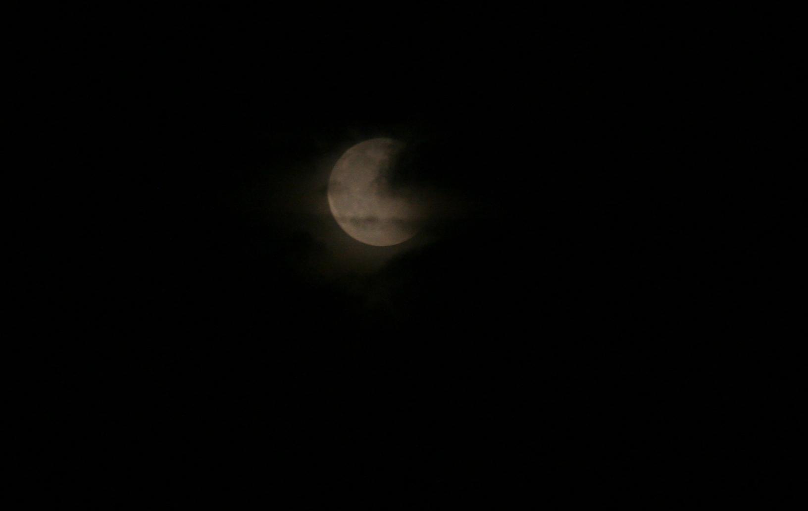 Mond über Berlin