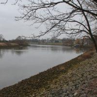 Die Weser am Stadtion