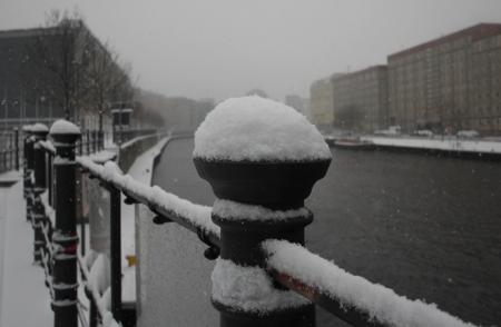 Winterimpressionen (2): Die Kuppel