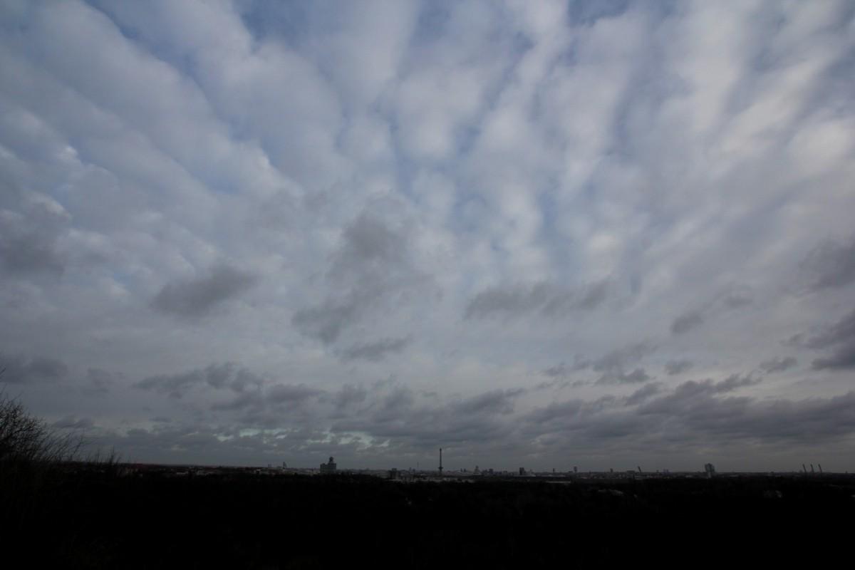 Die Wolken über Berlin