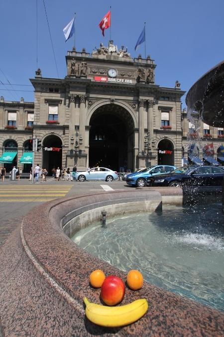 Zürich: Hauptbahnhof mit Gesicht