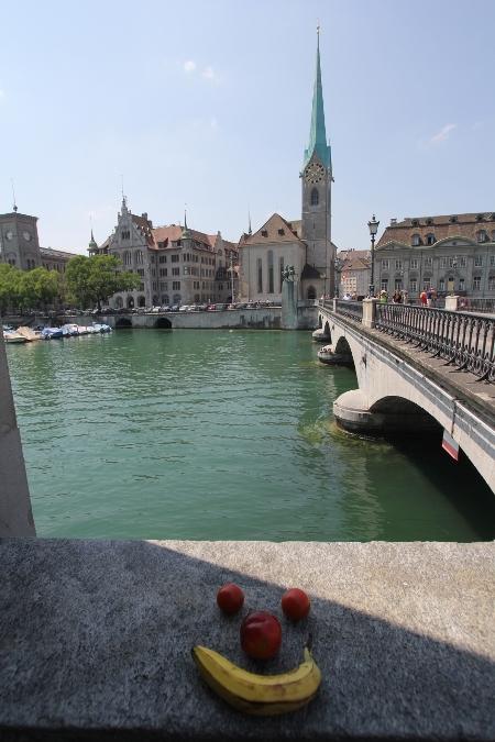 Zürich mit Fraumünster